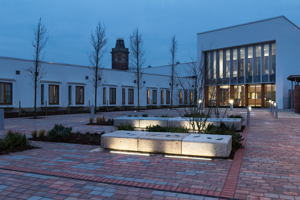 Clock View Mental Health Facility Liverpool Casey Doors