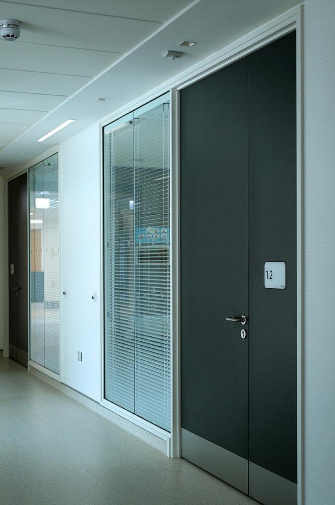 Ulster Hospital Casey Doors